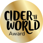 2018 CiderWorld Award Gold