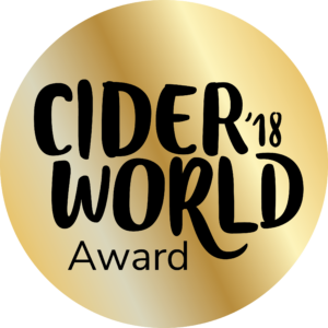 2018 CiderWorld Award Gold