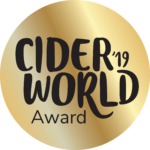 2019 CiderWorld Award Gold