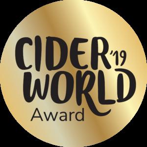2019 CiderWorld Award Gold