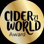 2021 CiderWorld Award Gold